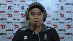 Marcelo Oliveira exalta importância de vitória fora de casa do Atlético-MG