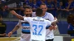 Grêmio vence o Cruzeiro no Mineirão pela semifinal da Copa do Brasil
