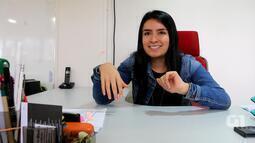 Colombiana dá dicas a intercambistas que querem vir ao Brasil; veja vídeo
