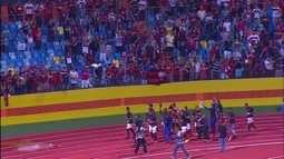 """Na festa do Atlético-GO, Magno desabafa com título: """"Nós conseguimos"""""""