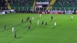 Os gols de Figueirense 1 x 1 Corinthians pela 35ª rodada do Brasileirão