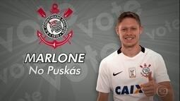 Com ano de altos e baixos, Marlone faz campanha para ganhar o prêmio Puskás