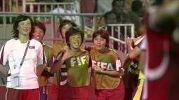 Os gols de Coreia do Norte 3 x 2 Espanha pela Copa do Mundo feminina Sub-20