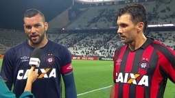 """""""Agora vem o Flamengo, mas temos condições de conseguir o nosso objetivo"""" diz Weverton"""