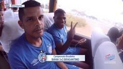 TV Bahêa - Os bastidores da vitória sobre o Bragantino