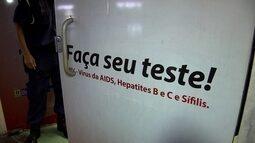 Falta reagente para fazer o teste que detecta o HIV no DF
