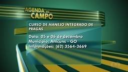 Confira os eventos da semana na Agenda do Campo