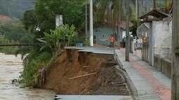 São Ludgero, no Sul de SC, decreta situação de emergência após desmoronamento