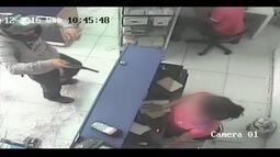 Imagens mostram roubo a loja de informática em Timóteo