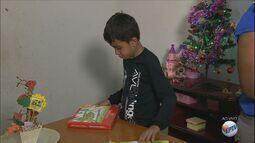 Menino que pediu reforma da casa em carta ao Papai Noel recebe ajuda no Sul de Minas