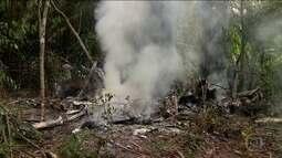 Cinco pessoas morrem em acidente com avião em Manaus (AM)