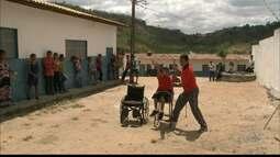 José Felipe supera as dificuldades em Areia e vira promessa brasileira para a Paralimpíada