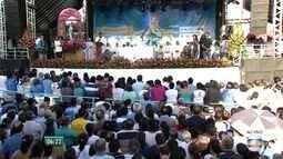 Morro recebe festa pela primeira vez como Santuário de Nossa Senhora da Conceição