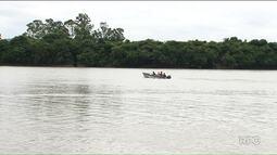 Fiscais do Ibama fazem patrulha no rio Iguaçu para evitar pesca durante piracema