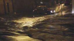 Chuva forte causa transtornos em Porto Ferreira