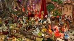 Família de Mairinque abre visitação de presépio gigante