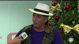 Cantor caruaruense Israel Filho, ao vivo no ABTV 1ª edição