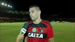 """""""Fui presenteado por um ano tão difícil"""", diz Diego Souza sobre artilharia"""