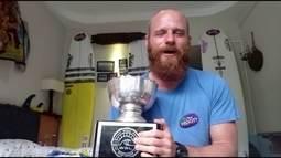 Phil Rajzman conquista bicampeão mundial de longboard