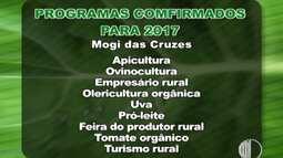Agenda: em Mogi das Cruzes já tem programação de cursos definida para o próximo ano