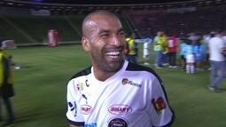 """Emerson Sheik fala de partida contra a fome e novo clube: """"Estou feliz de participar"""""""
