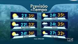 Veja a previsão do tempo para esta sexta-feira (6) no MA