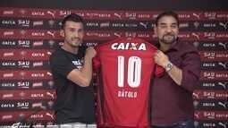 Dátolo se apresenta ao Vitória e Marinho vai para o futebol chinês