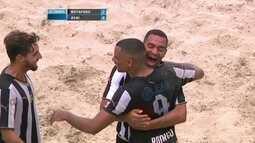 Os gols de Botafogo 7 x 6 Avaí pelo Campeonato Brasileiro de futebol de areia