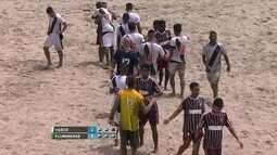 Os gols de Vasco 4 (2) x (3) 4 Fluminense pelo Campeonato Brasileiro de futebol de areia