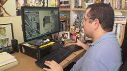 Rogério Coelho, o homem que se comunica pelos desenhos