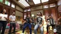 Munhoz e Mariano encerram o 'É de casa'