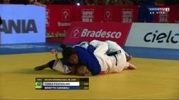 Yanka Pascoalino perde para a colombiana Brigitte Carabali por Ippon no Desafio de Judô