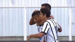 Gol do Bragantino! Bruno Oliveira invade a área e abre o placar, aos 7 do 1ºT