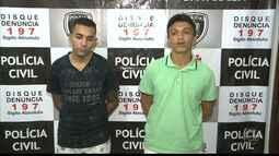 Polícia prende na PB dupla que diz ter fugido do presídio de Alcaçuz, no RN