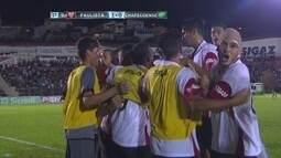 O gol de Paulista 1 x 0 Chapecoense pela Copa São Paulo de Futebol Júnior