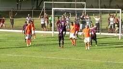 Zagueiros resolvem e Campos Atlético garante empate contra o Nova Iguaçu