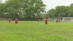 Equipe do Trem se prepara para o Amapazão sub-17 de futebol
