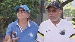 Casal vai participar pela primeira vez de passeio ciclístico em Praia Grande