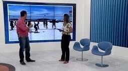 Projeto 'Estação Verão' da Inter TV agita a Praia do Forte nesta quinta