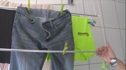Veja dicas de como fazer para secar as roupas nesta época de chuva