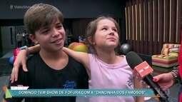 """Domingo tem show de fofura com a """"Dancinha dos Famosos"""""""