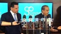 Governo de GO e prefeitura de Goiânia se reunem para fechar contrato com Saneago
