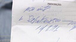 Lei que determina letra legível em receitas médicas ainda não é cumprida