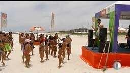 Projeto 'Estação Verão' acontece na Praia do Forte e termina neste domingo