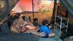 Camping do Siri, no Sul do ES, é opção para aproveitar o verão