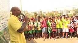 MV Bill abre primeiro dia de jogos da Taça das Favelas Minas, em Belo Horizonte