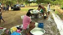 Moradores de Povoado de Nossa Senhora do Socorro estão sem água há três meses