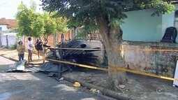 Mãe de bebê carbonizado em incêndio é enterrada em Assis