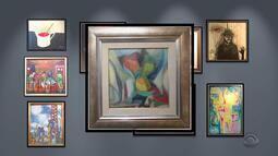 Arte: veja obras da mostra 'Sonhos Lúcidos'