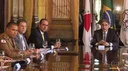 Governador de Mina sse reúne pela primeira vez com novo prefeito de Belo Horizonte